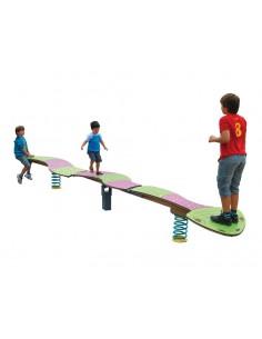 Serpent à ressort pour aire de jeux
