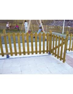 Porte pour barrière rustique COLINA MC001