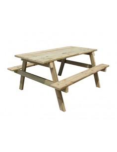 Table picnic montée