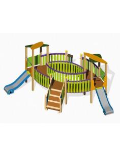 Parc Cossio pour aire de jeux