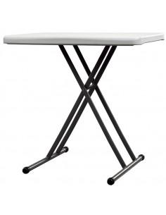 Table X-UP  Pliante  Hauteur réglable Polyéthylène Rectangulaire
