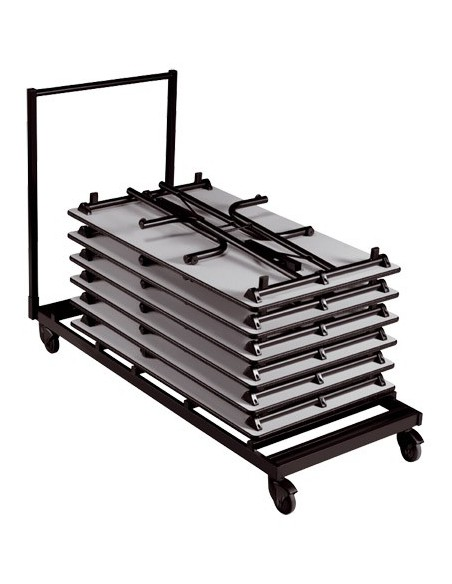 Chariot pour tables rectangle n°5