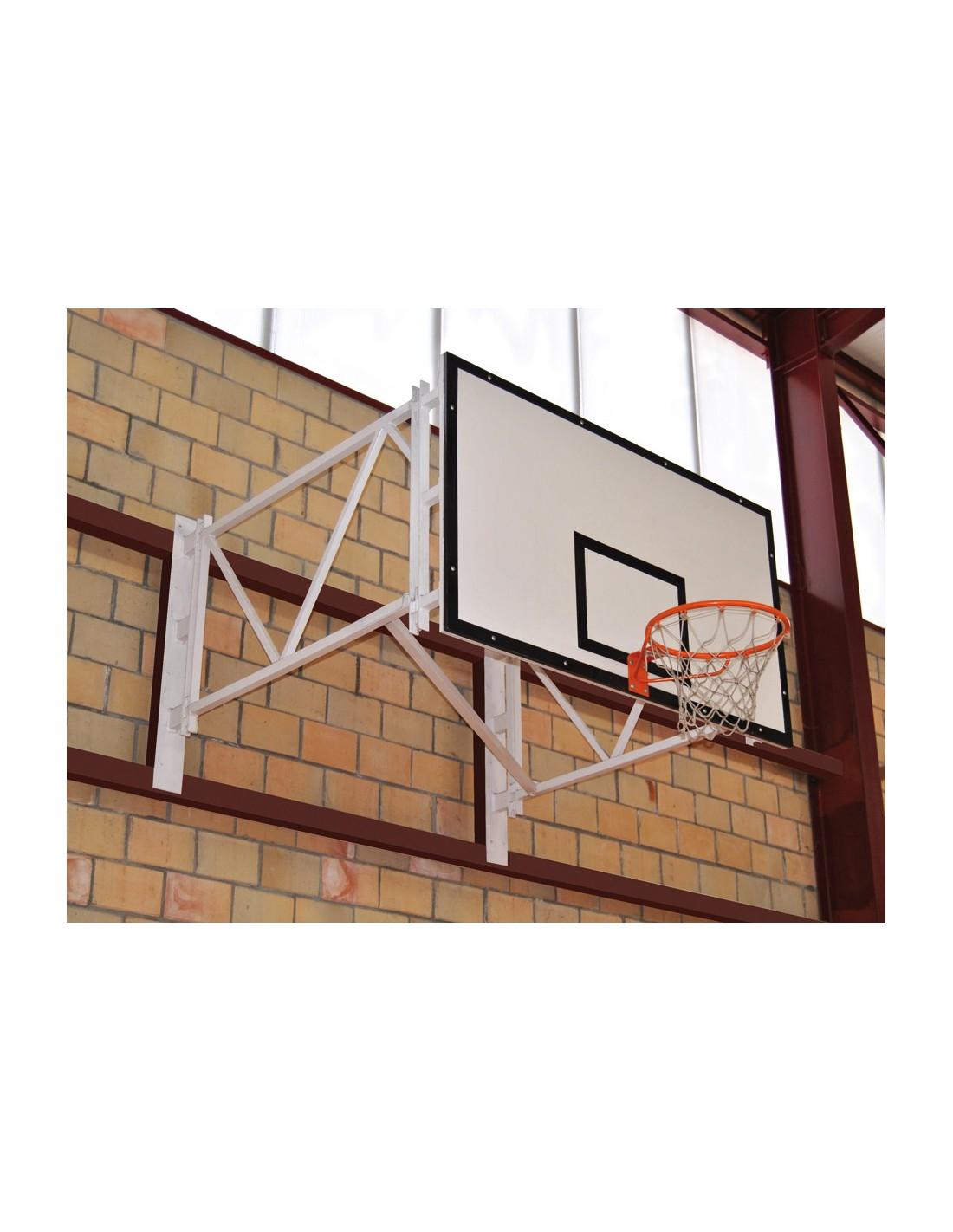 Kit panier de basket section tubulaire carr e et rabattable - Panier de basket amovible ...