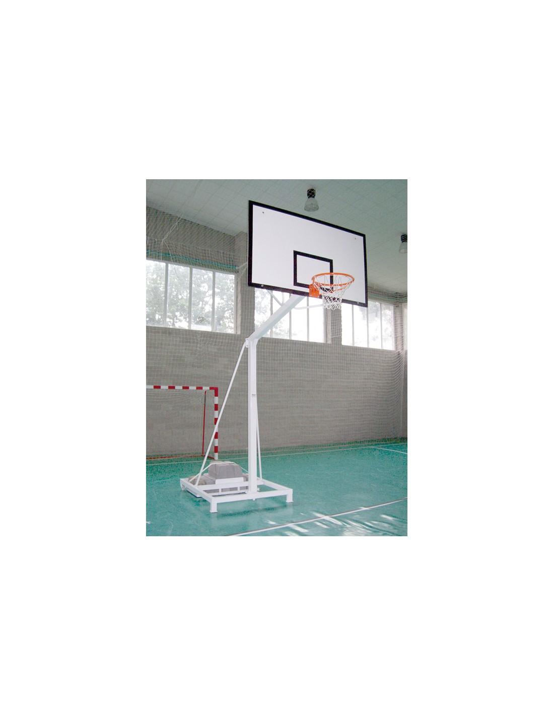 Kit panier de basket transportable avec contrepoids - Panier de basket amovible ...