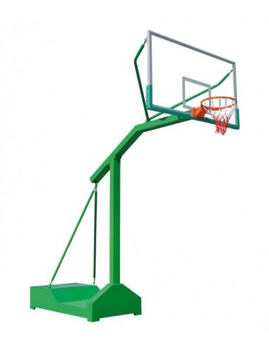 Kit panier de basket d montable avec tube rectangulaire - Panier de basket amovible ...
