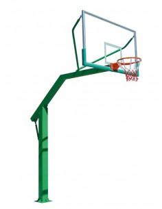 Panier de basket à tube rectangulaire