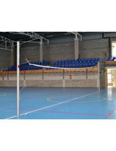 Poteaux Volley-ball avec roues et base en T
