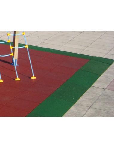 Sol de sécurité coin 1 x1 m, 4,3 cm d'épaisseur et 1,4 m HCI
