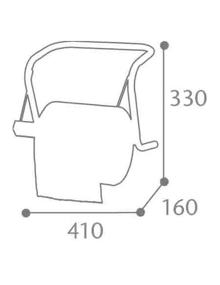 Dérouleur bobine papier BOBINO