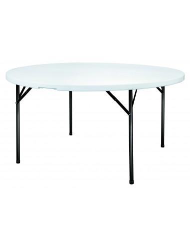 Table Pliante Polypropylène ronde Grenade
