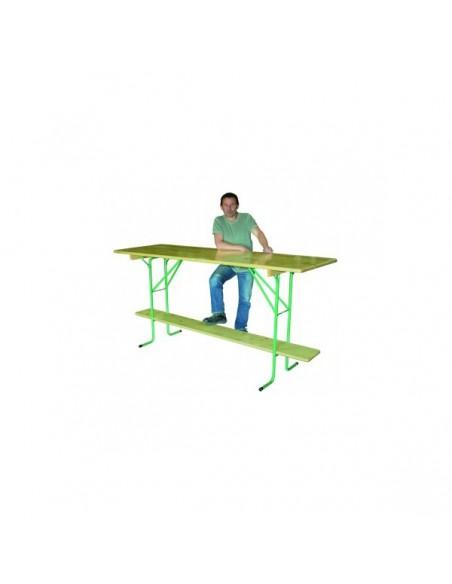 Table Comptoir Pliante Bois Vienne