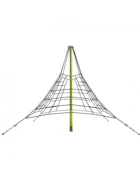 Pyramide en filet de corde armée Araignée