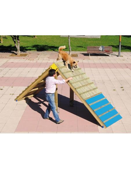 Palissade pour parcours canin